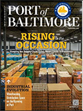 Cover of the Port of Baltimore Magazine