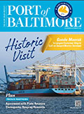 Port of Baltimore Magazine Cover